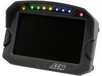 Cyfrowy wyświetlacz AEM ELECTRONICS CD-5 Carbon + GPS - GRUBYGARAGE - Sklep Tuningowy